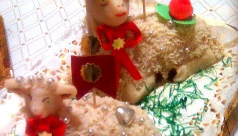 L'agnello pasquale di Favara. Tra dolce tipico e romanzo familiare.