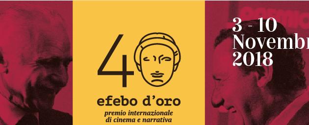 40° edizione dell'Efebo d'Oro. Quando la letteratura incontra il cinema