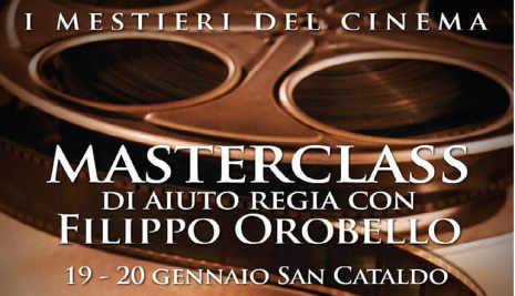 "A San Cataldo "" I mestieri del cinema"""