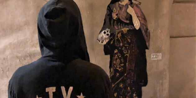 Palermo- TVboy: il Bansky italiano ritorna a casa