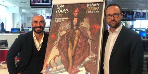 È Gammazita la protagonista del Manifesto di Etna Comics 2019  firmato da Simone Bianchi
