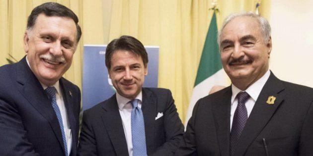 Libia, l'Italia tra due fuochi