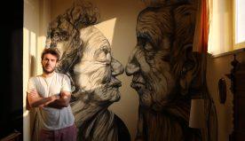 """""""REvolution, cap.3"""": l'artista siciliano Robico approda a Milazzo"""