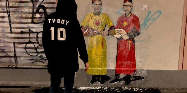 TVBOY torna a Milano: tre nuovi murales nella notte