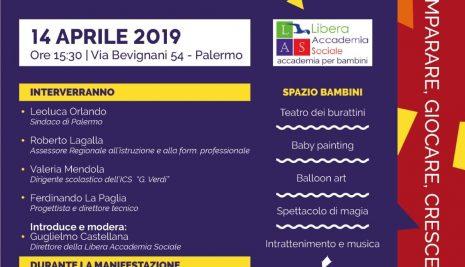 """A Palermo """"Un viaggio dall'infanzia alla legalità"""""""