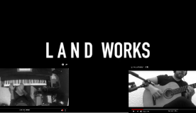 Flavio E.C. Burtone e Luca Aletta in Land Works