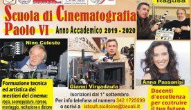 Gela, la scuola Paolo VI per chi vuole imparare a fare cinema. In autunno l'avvio dei corsi